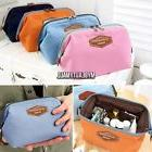 Travel Fabric Cosmetic Makeup Bag Pencil Case Storage Pouch