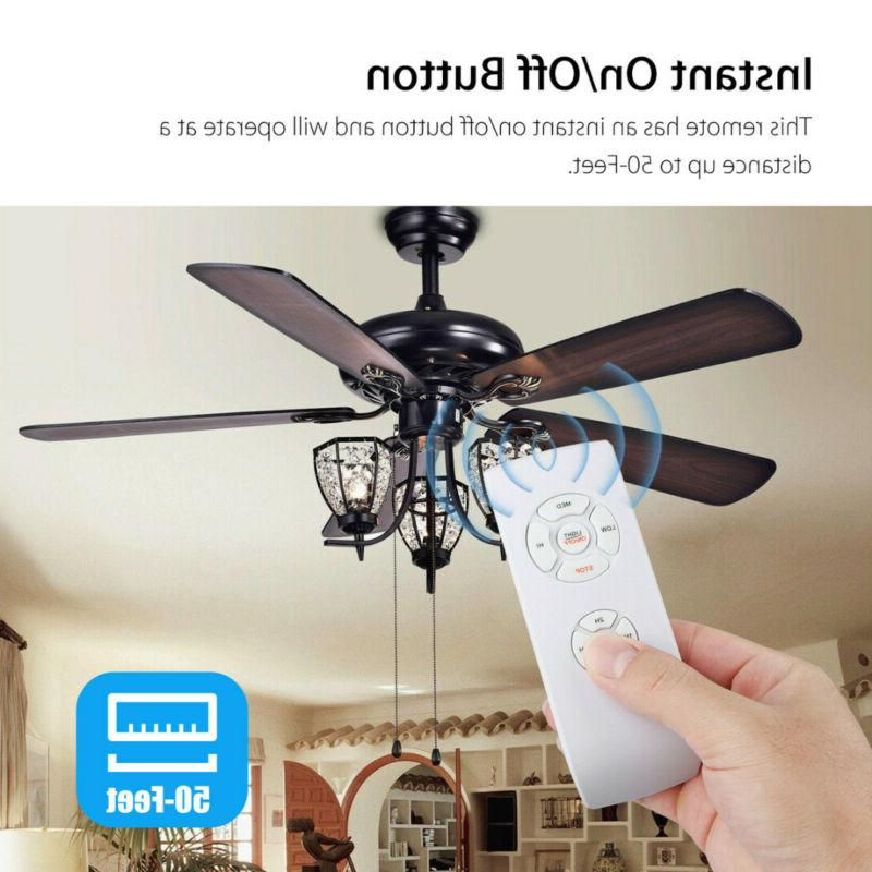 Universal Ceiling Fan Light Remote Receiver Kit Timing Wireless