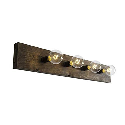 West Light Fixture | Rustic Wood Style