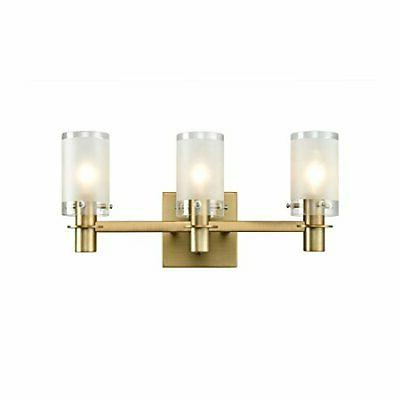 AXILAND Vanity Wall Sconce 3 Light Bathroom Fixture with Exp