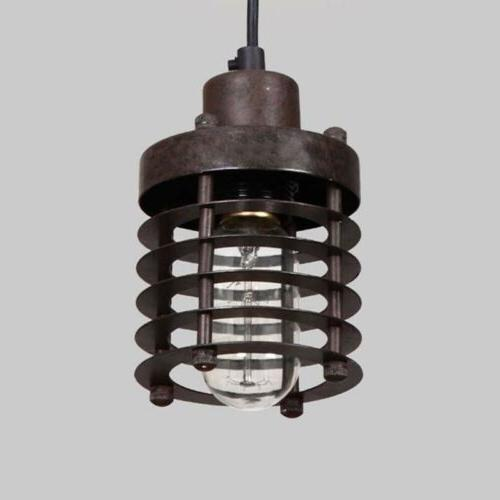 Vintage Industrial Ceiling Light Pendant Lamp Edison Fixture