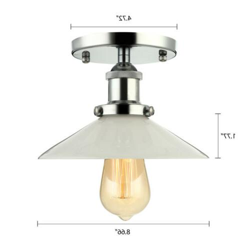 Vintage Style 1 Light Flush Fixtures