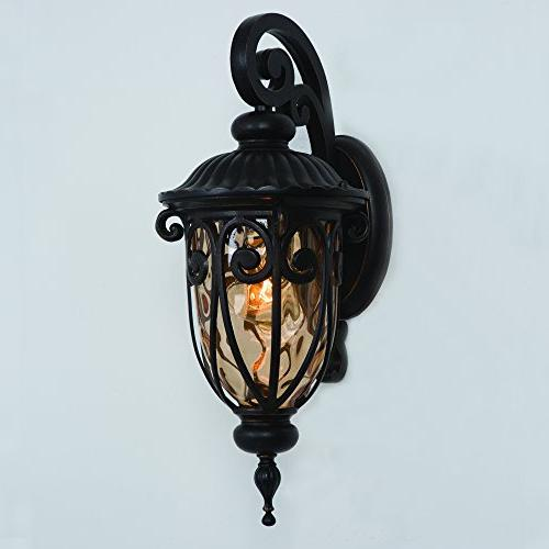 Yosemite Home Decor Viviana 1 Light Wall Lantern
