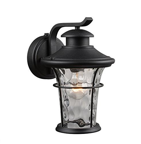 water glass wall lantern