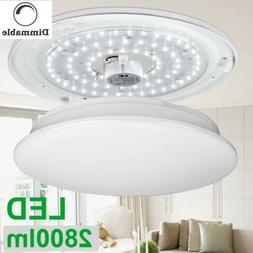 LE 40W Round LED Ceiling Light Fixture Flush Mount Pendant L