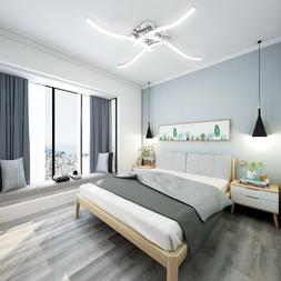 LED Ceiling Light Fixture Dimmable with Remote Control Moder