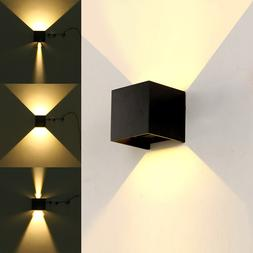LED Outdoor Wall Sconce Porch Up Down <font><b>Light</b></fo