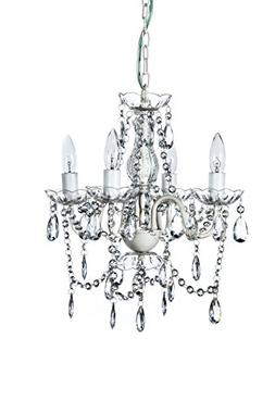The Original Gypsy Color 4 Light Small Crystal Chandelier fo