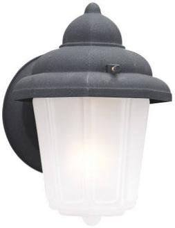 Westinghouse Lighting 6688100 Black One-Light Exterior Wall