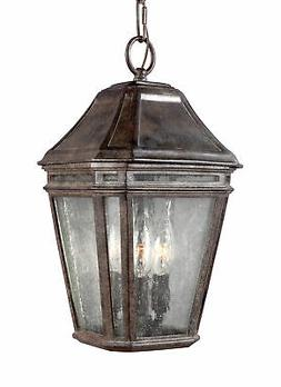 Feiss Lighting Londontowne 3 Light Weathered Chestnut Outdoo