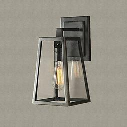 SUSUO Lighting Outdoor Wall Sconce Simple Design Lantern Lig