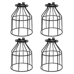 Supmart Metal Bulb Guard, Clamp On Steel Lamp Cage for Hangi