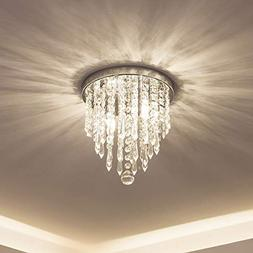 lifeholder Mini Chandelier, Crystal Chandelier Lighting, 2 L