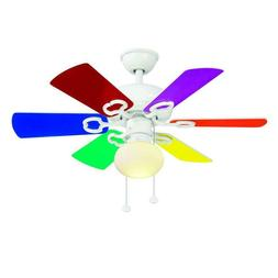 SALE Hampton Bay Minuet III 36 inch White Ceiling Fan