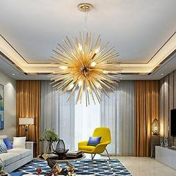 "22"" Sputnik Chandelier Light Fixture 12 Ceiling Light Pendan"