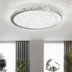 Modern Crystal Ceiling Light LED Pendant Lamp Flush Mount Fi