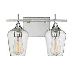 Savoy House Octave 2 Light Bath Bar 8-4030-2-11 in Polished