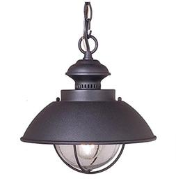 """Vaxcel Vaxcel OD21506TB Harwich 10"""" Outdoor Pendant, Texture"""