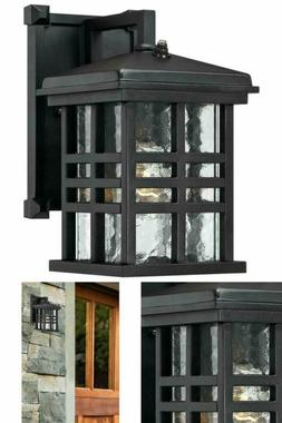 Outdoor Wall Lantern Caliste 1 Light With Dusk To Dawn Senso