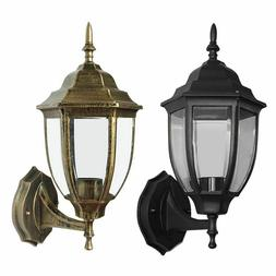 Outdoor Wall Light Fixture Exterior Lighting Lantern Lamp Po