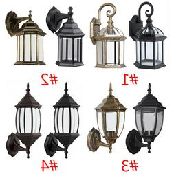 Outdoor Wall Porch Patio Light Exterior Lighting Lamp Lanter