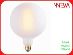 Oversized Frosted Vintage Edison Round Palla 60W Dimmable Cl