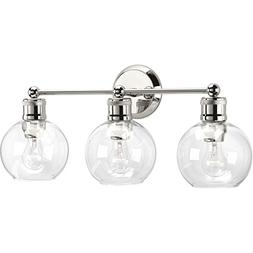 Progress Lighting P300051-104 Hansford Polished Nickel Three