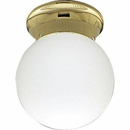 p3605 10 ceiling fixture with white glass