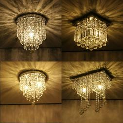 PENDANT CEILING LAMP Crystal Ball Fixture Light Chandelier F