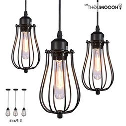 HOOOM Pendant Light Ceiling Mounted Chandelier Fixture, Kitc