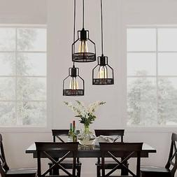 Pendant Light 3 Lamps Ceiling Fixture Chandelier Kitchen Din