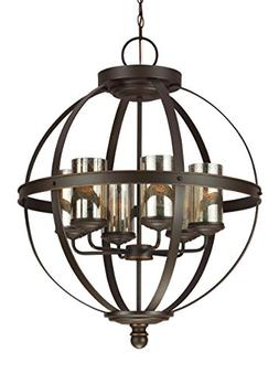 Seagull 3110406-715 Six Light Chandelier