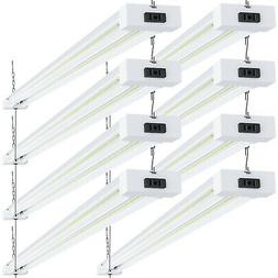 Sunco 8 Pack LED Shop Light 40W  5000K Daylight 4500 lm Clea