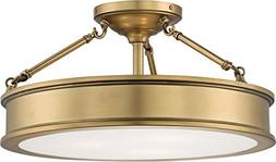 Minka Lavery Semi Flush Mount Ceiling Light 4177-249, Harbou