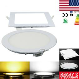 ULtra Thin LED Recessed Ceiling Panel Light Downlight Flat L