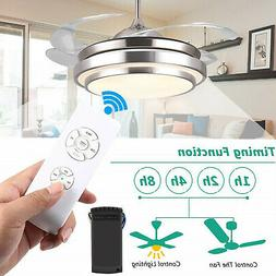 Universal Ceiling Fan Lamp Light Remote Control Receiver Kit