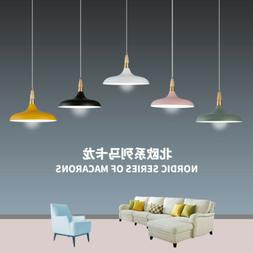 Morden Pendan Ceiling Light Fixture Wood Hanging Lamp Dinnin