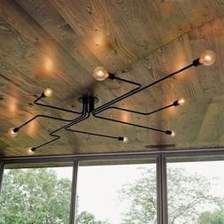 Vintage Industrial Ceiling Light Chandelier Steampunk Pendan