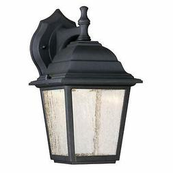 Westinghouse 6400100 One-Light LED Outdoor Wall Fixture, Bla