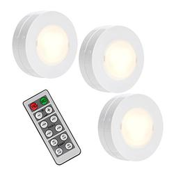 SOLLED Wireless LED Puck Lights, Kitchen Under Cabinet Light